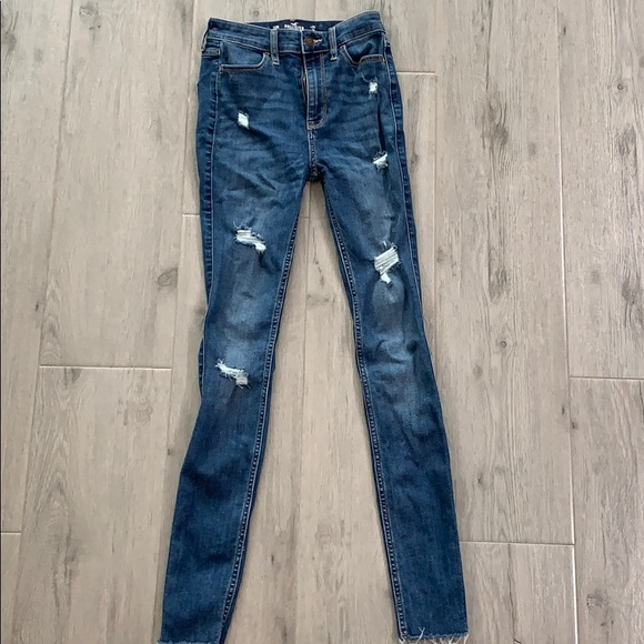 Hollister Denim - Hollister 00R Ultra High Rise Super Skinny Jeans